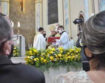 Diácono Marciel é ordenado padre em Sombrio