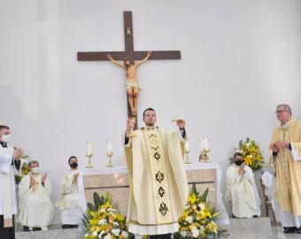 Diocese de Criciúma acolhe Padre Davi