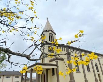 Jacinto Machado se prepara para reabertura da Igreja Matriz
