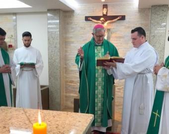 Seminários recebem visita de Dom Jacinto