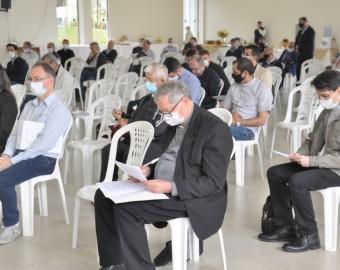 Diocese de Criciúma realiza reunião geral com o clero