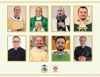 Bispo anuncia transferências e nomeações no clero