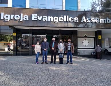 Visita marca retomada de ações ecumênicas